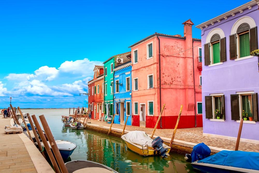 Villages Italie - Burano