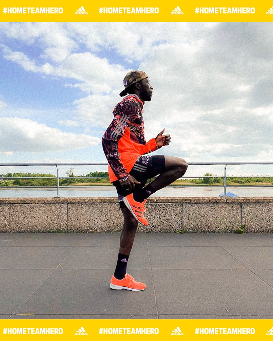 adidas #HOMETEAMHERO challenge