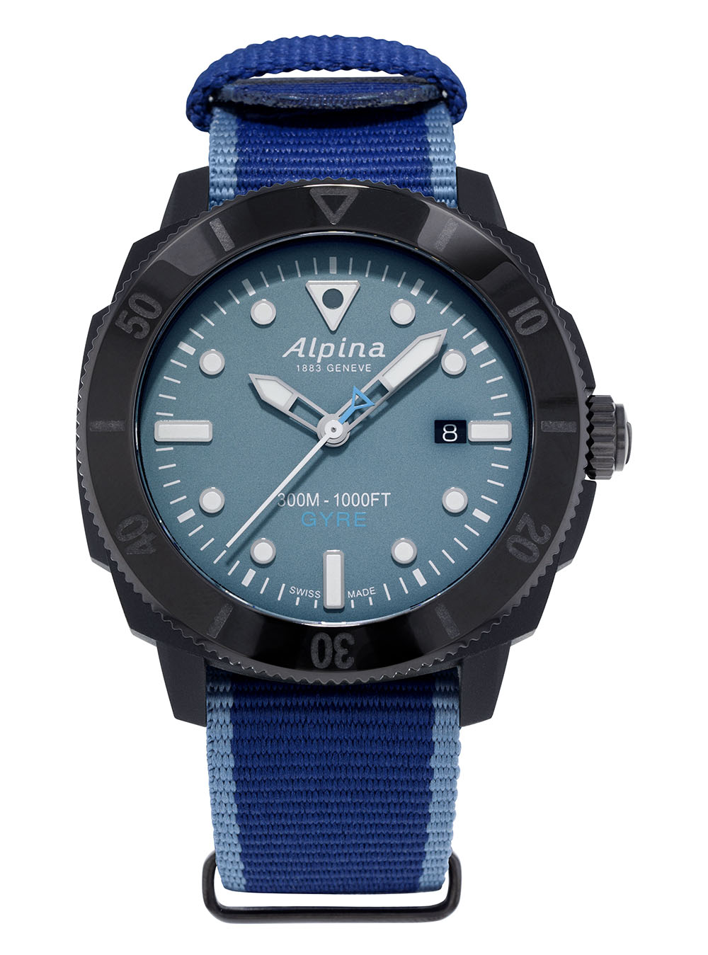 Alpina Seastrong Diver Gyre automatique
