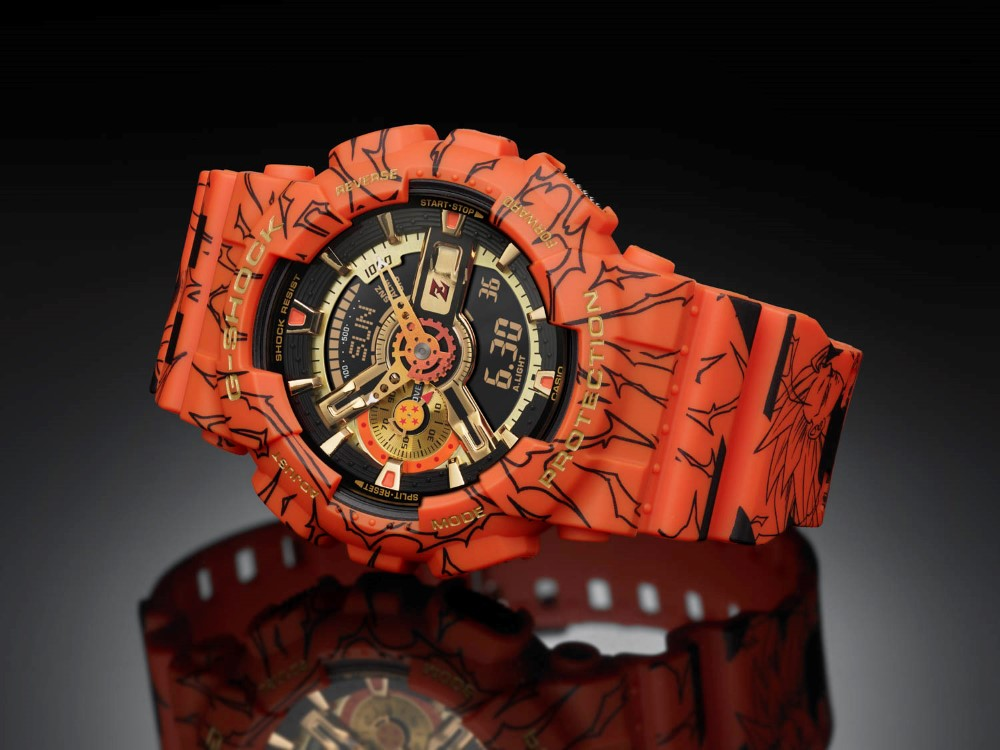 G-SHOCK x Dragon Ball Z