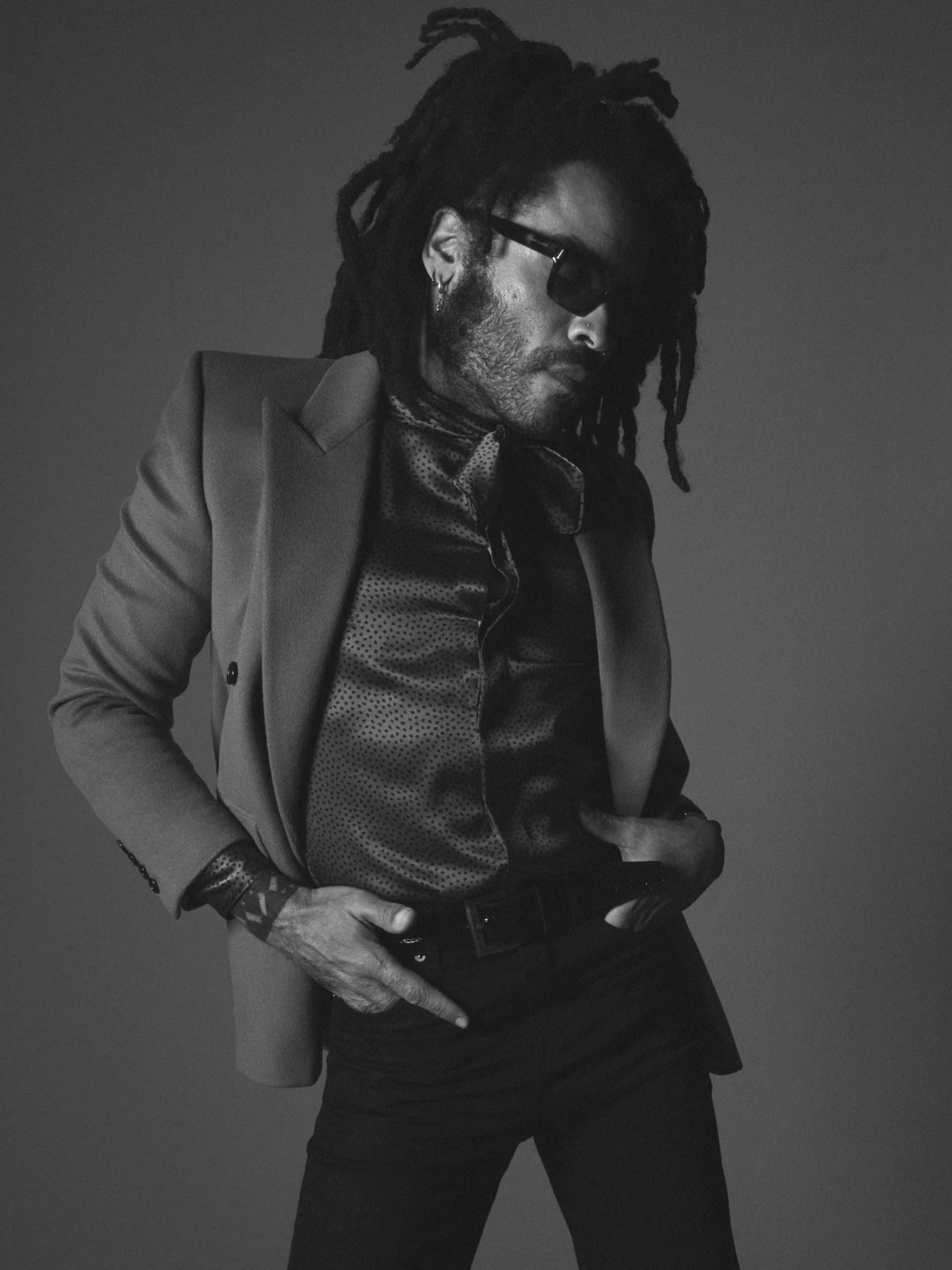 Lenny Kravitz x Saint Laurent