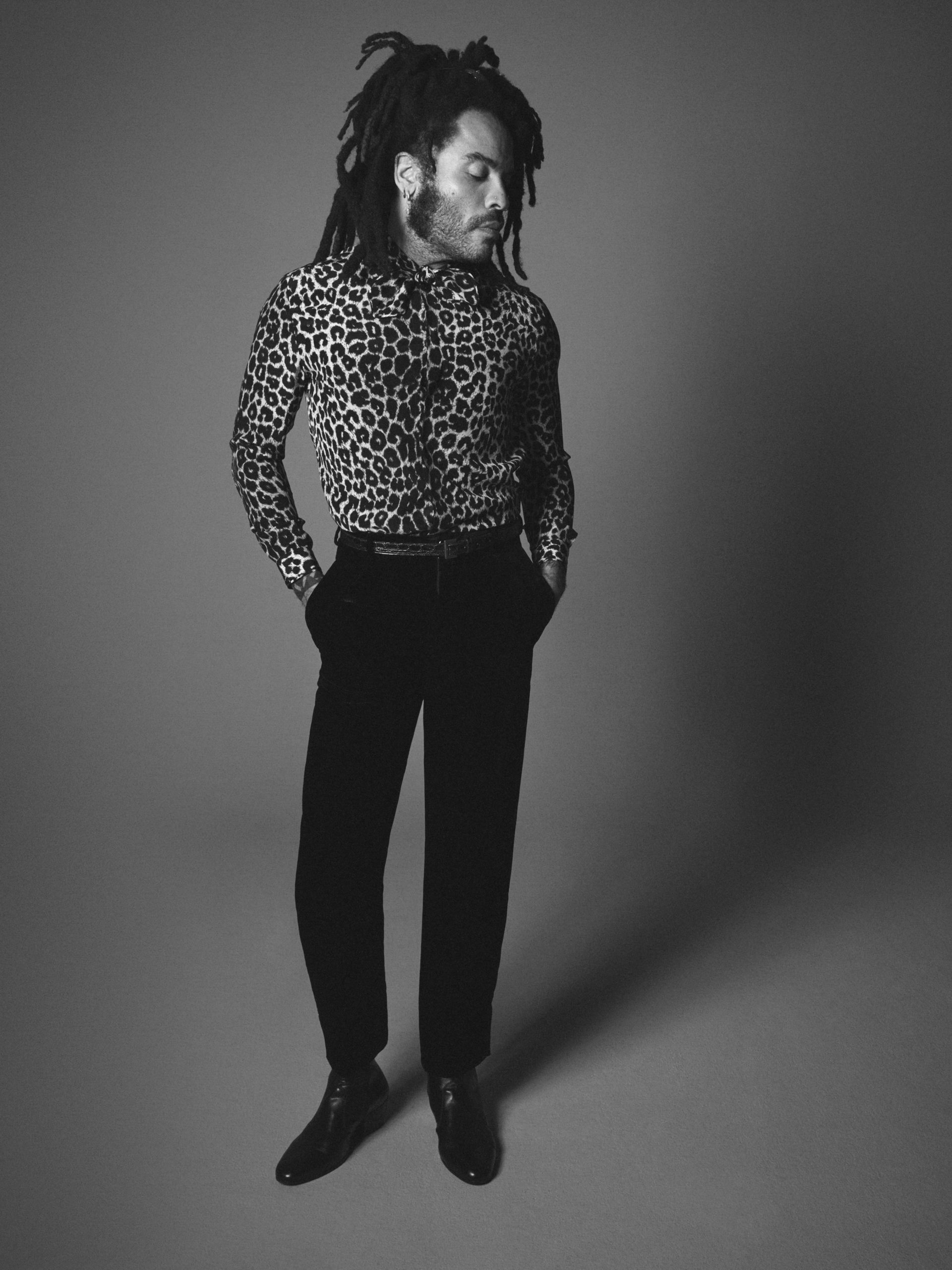 Lenny Kravitz x Saint Laurent