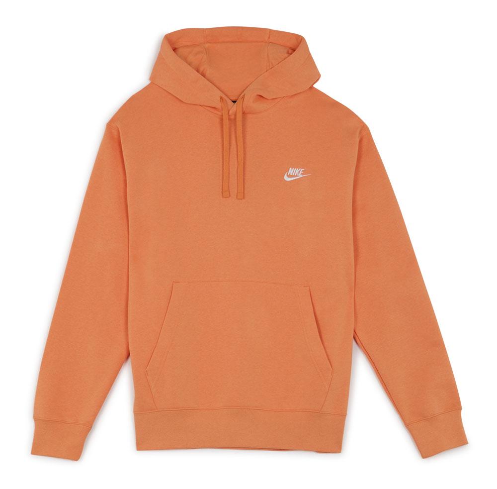 Nike Hoodie Club Small Logo Orange
