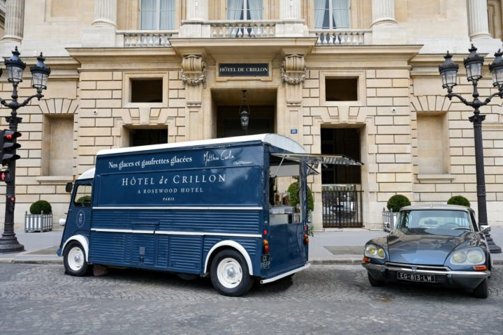 Hôtel de Crillon - Ice-Cream Truck