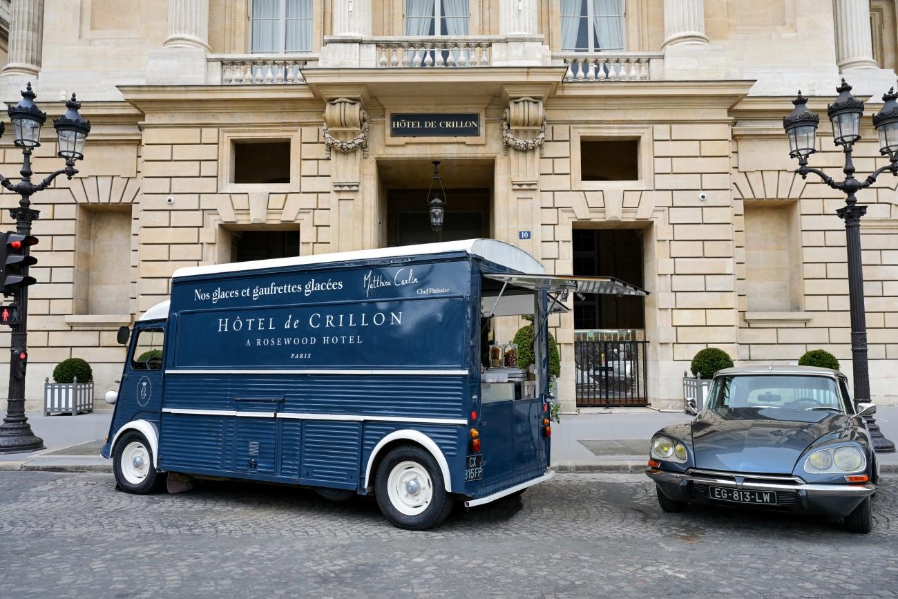 Hôtel de Crillon - Ice-Cream Truck