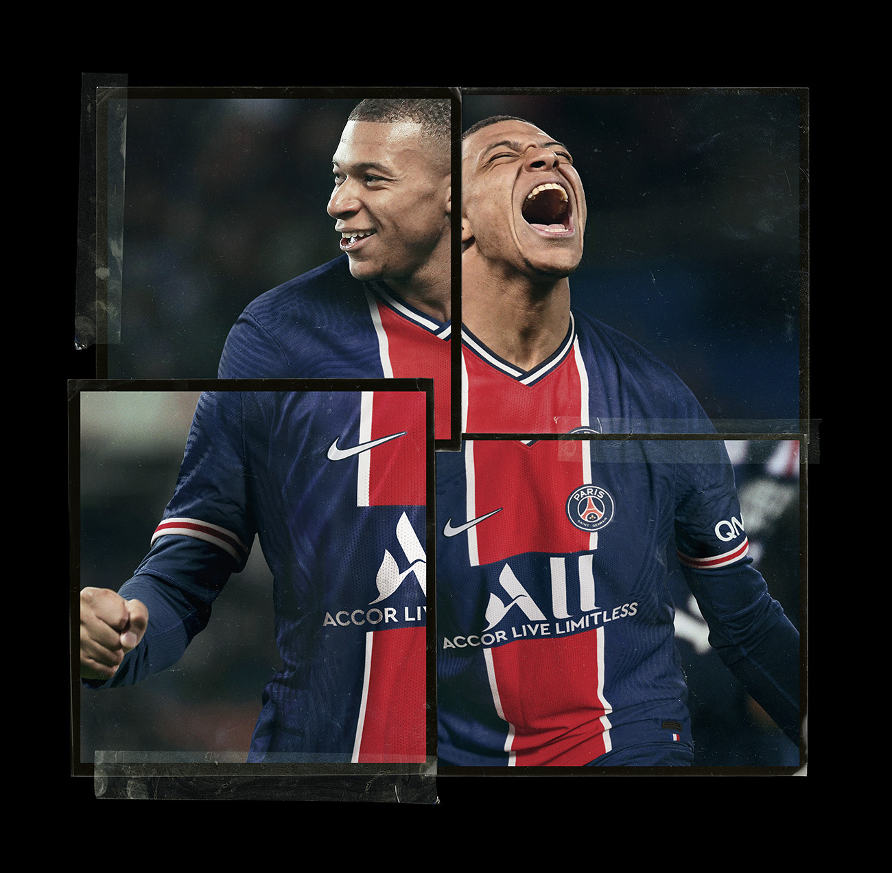 Nike Football x Paris Saint-Germain 2020-21 - Kylian Mbappé