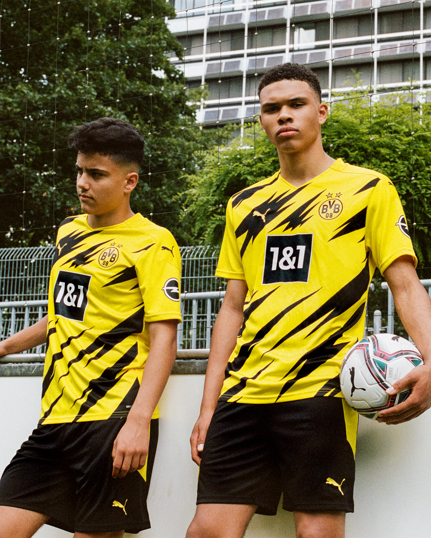 PUMA Football x Borussia Dortmund Kit domicile Saison 2020-21