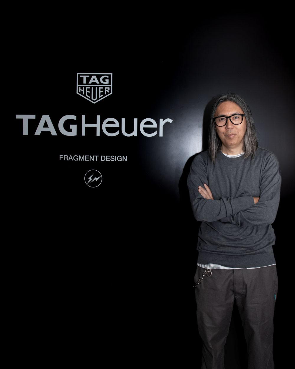 TAG Heuer x Fragment Design Heuer 02 chronographe