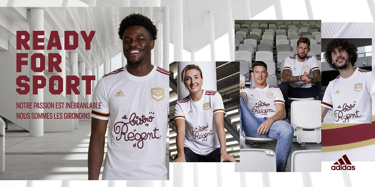 adidas football x Girondins de Bordeaux 2020-21 - Maillot Away
