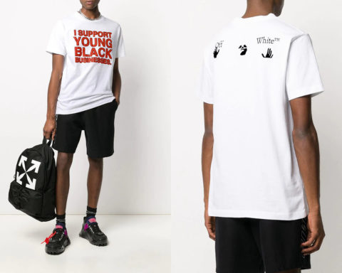 Off-White - I Support Young Black Businesses