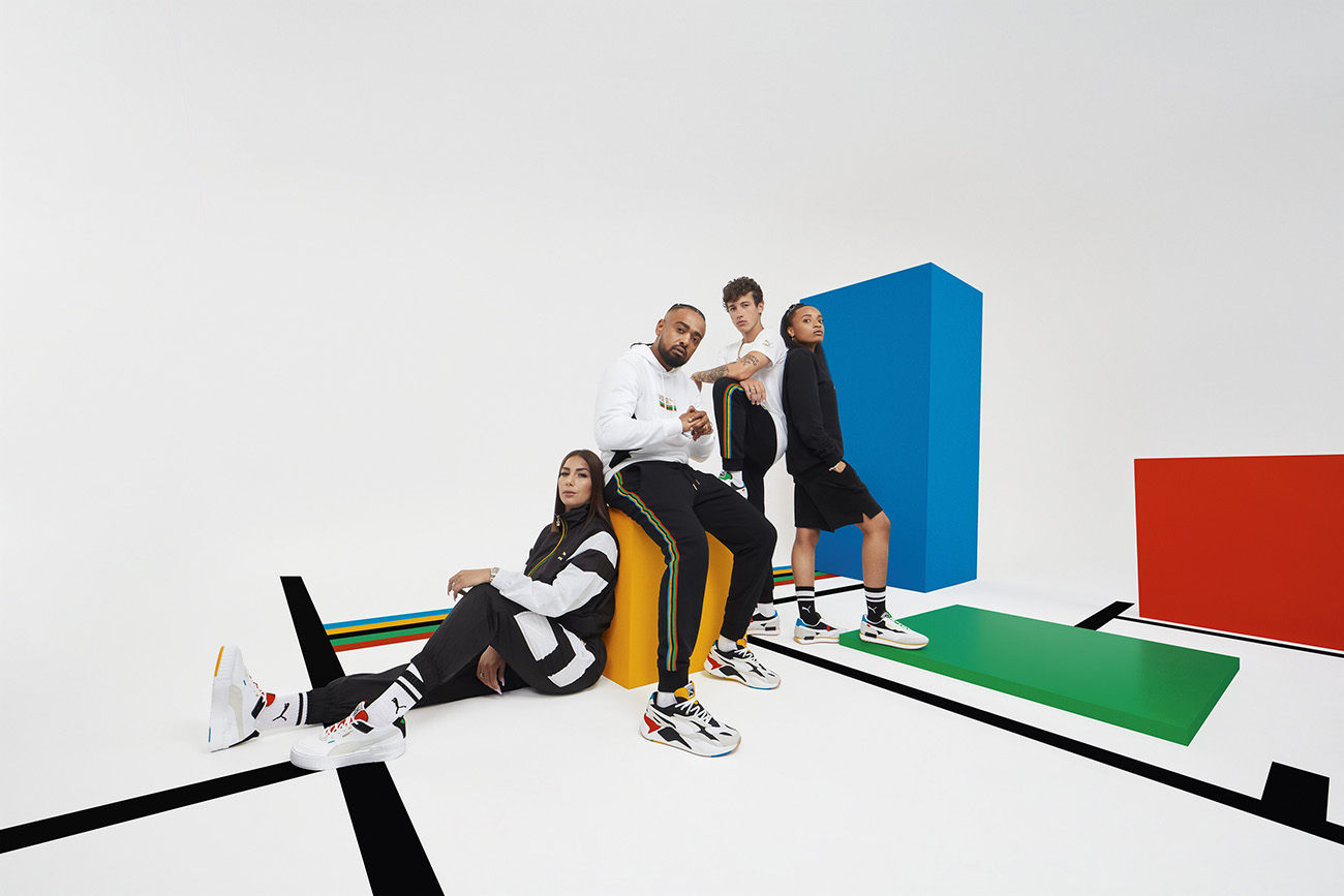 PUMA Campagne Unity Collection - Rilès & Alonzo