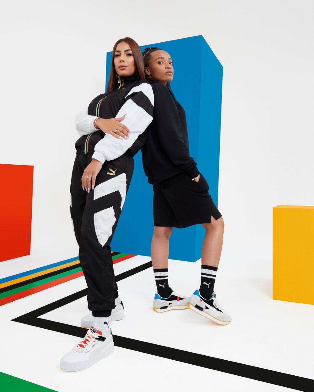 PUMA Campagne Unity Collection - Rilès & Alonzo