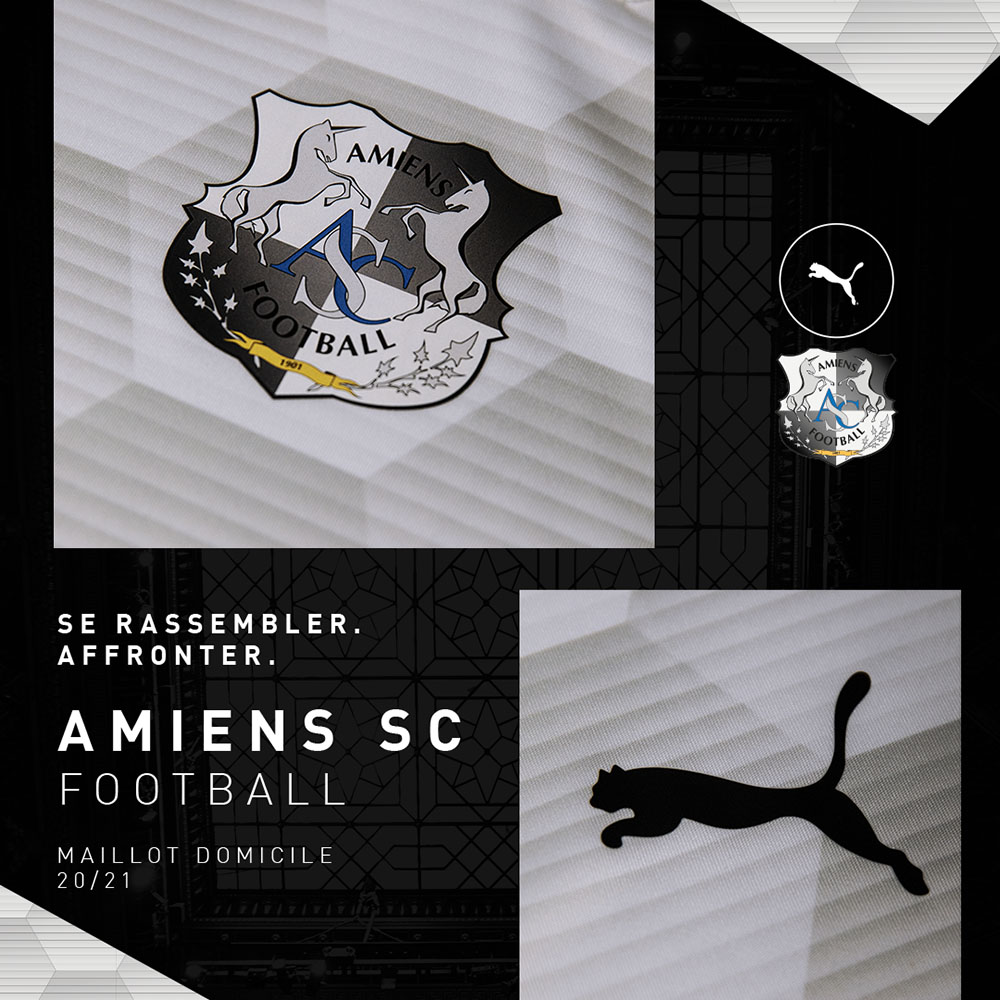 PUMA Football x Amiens SC Away Kit Saison 2020-2021