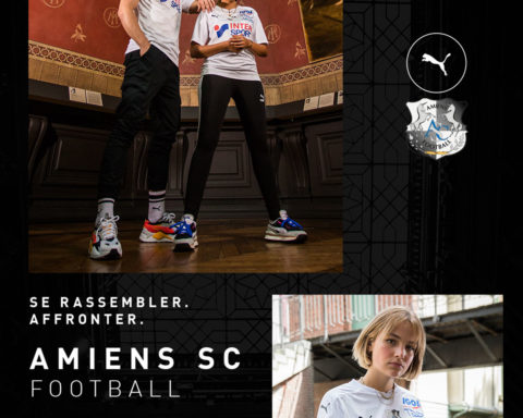 PUMA Football x Amiens SC Away Kit Saison 2020-2021