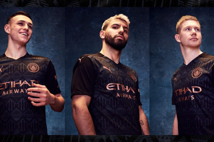 PUMA Football x Manchester City Maillot Away 2020-21