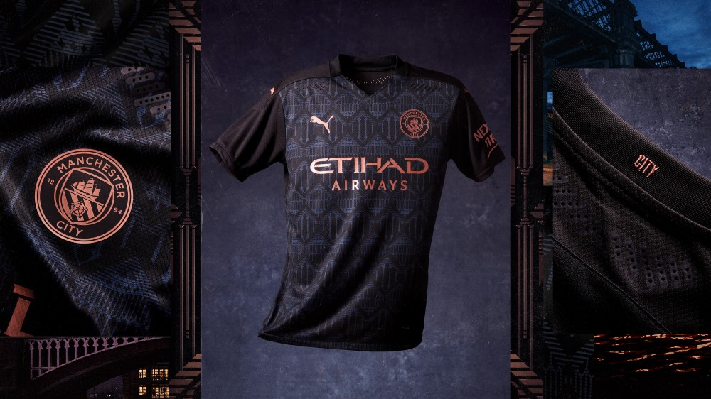 PUMA Football x Manchester City Maillot Away 2020-21