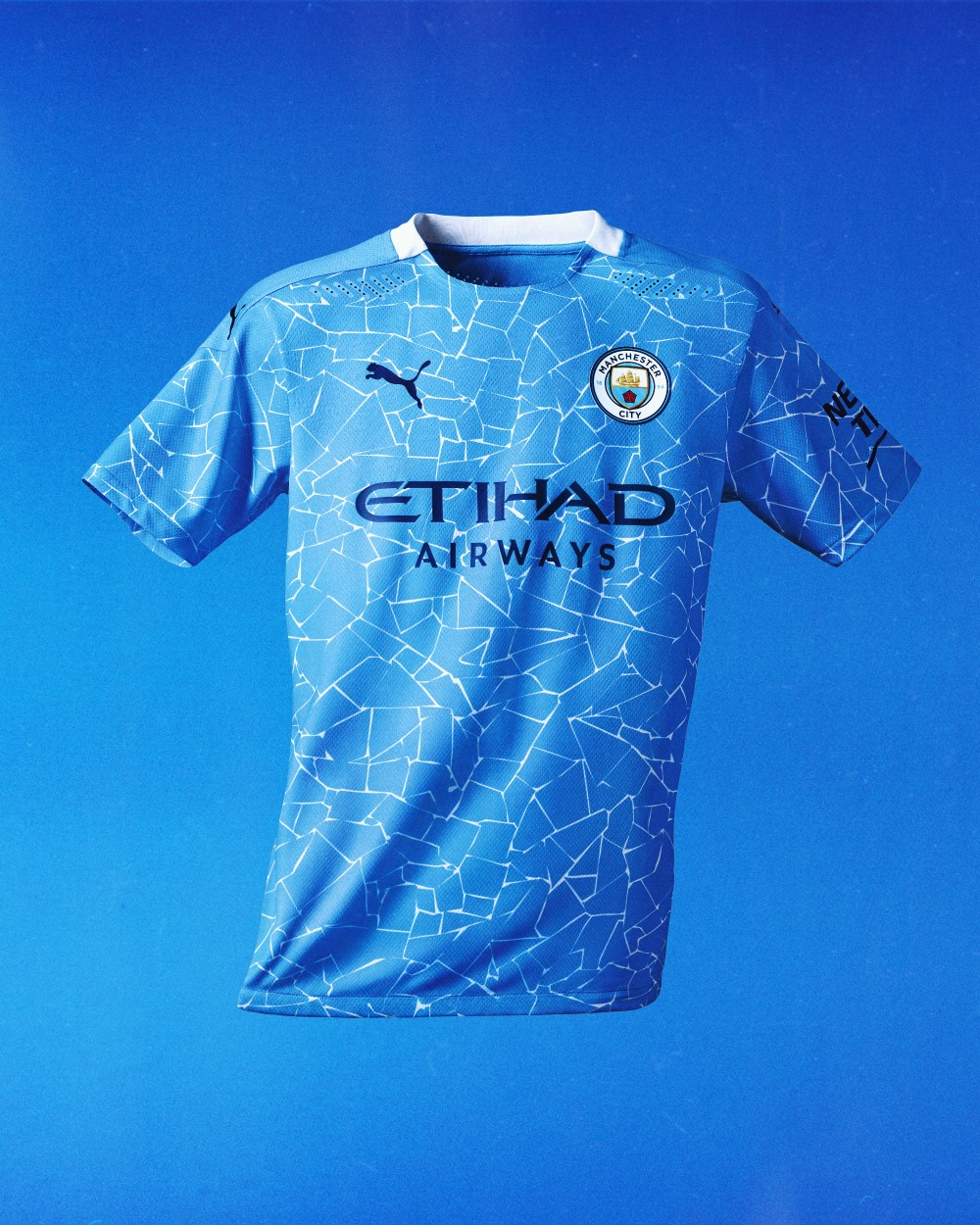 PUMA Football x Manchester City Maillot Domicile 2020-21