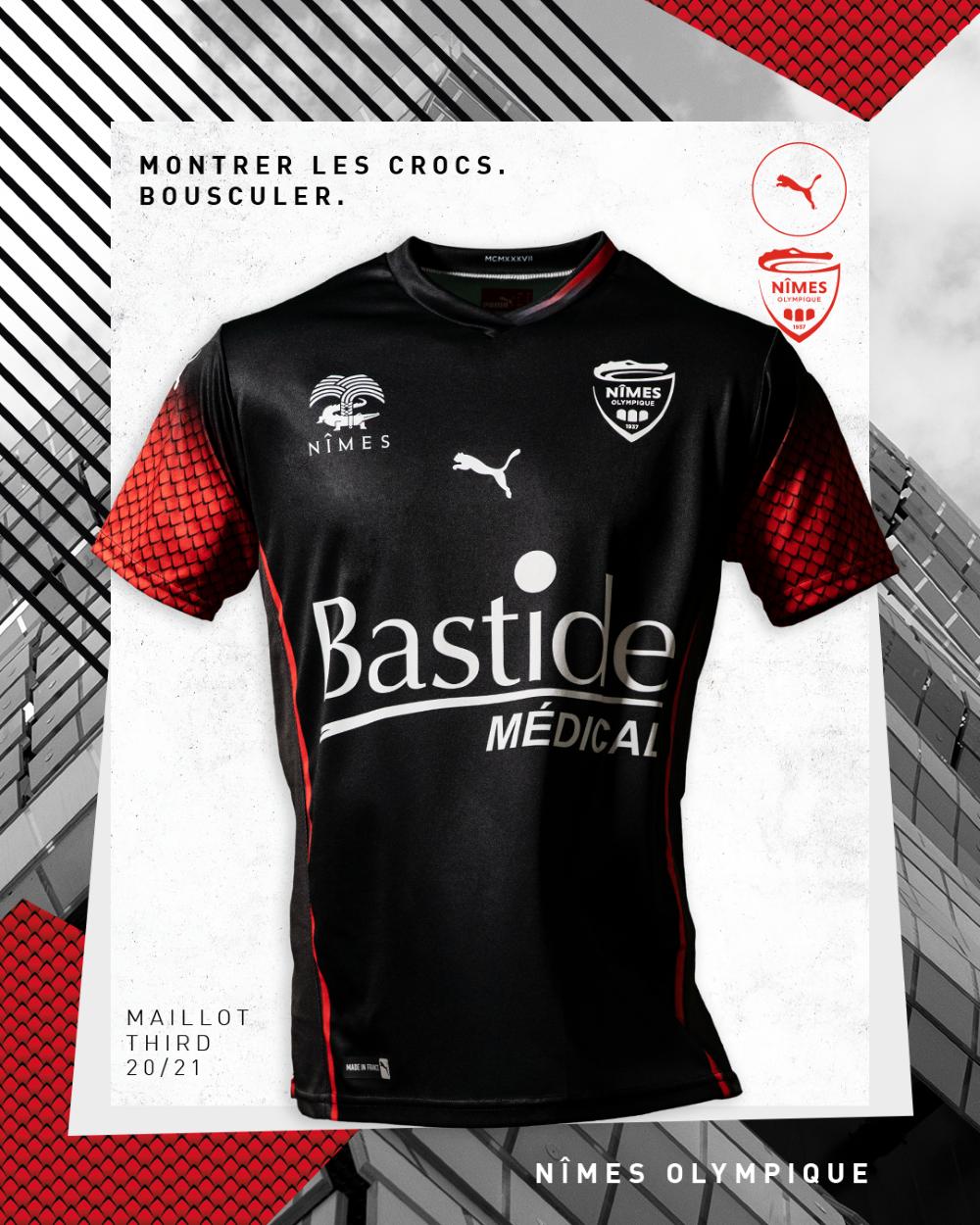 PUMA Football x Nîmes Olympique 2020-2021 - Maillot Extérieur