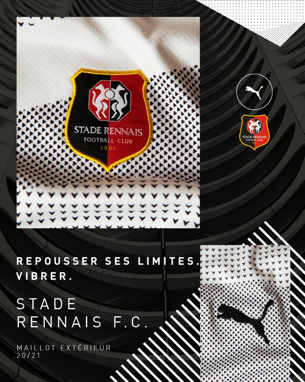 PUMA Football x Stade Rennais F.C Maillot Extérieur 2020-2021