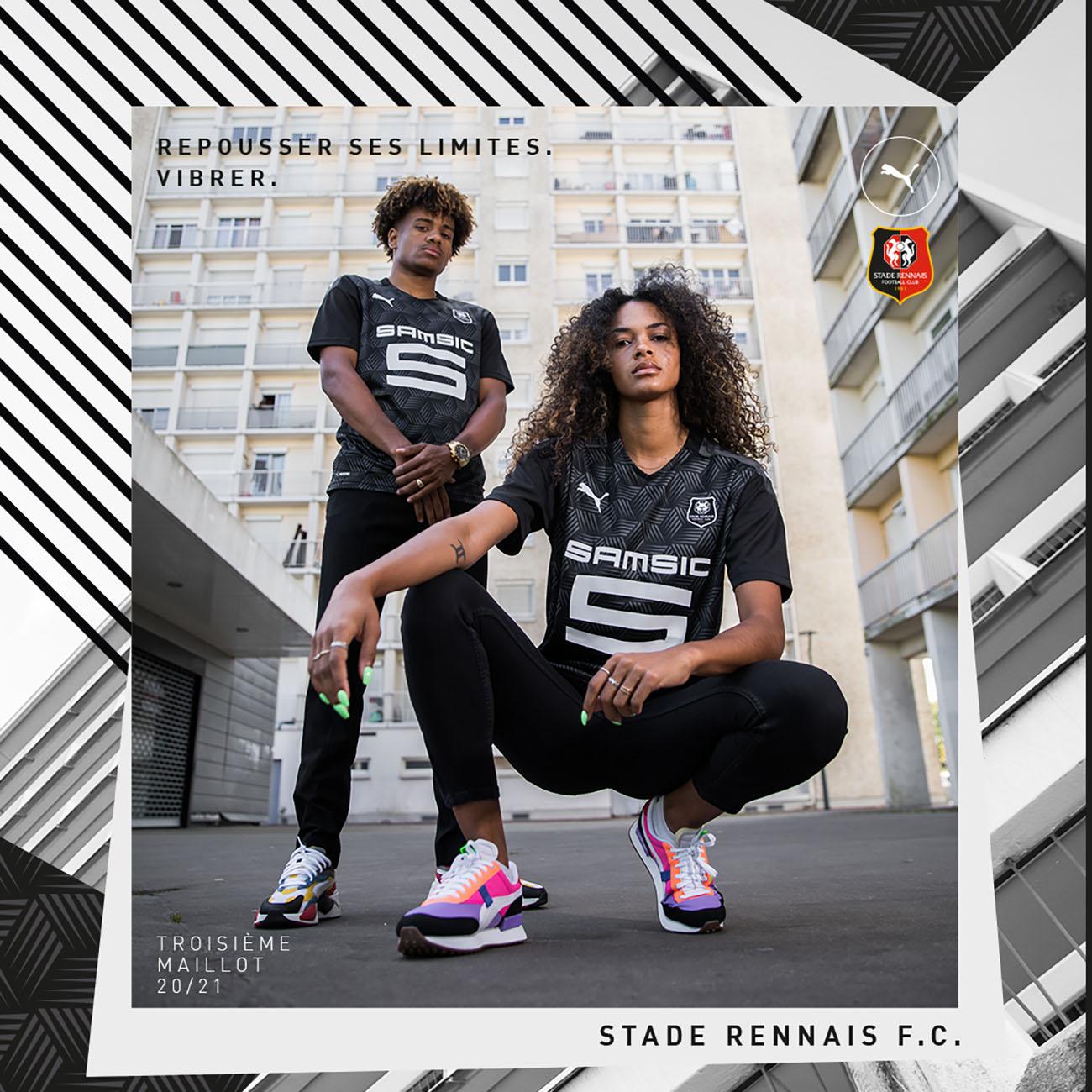 PUMA Football x Stade Rennais F.C. Maillot Third