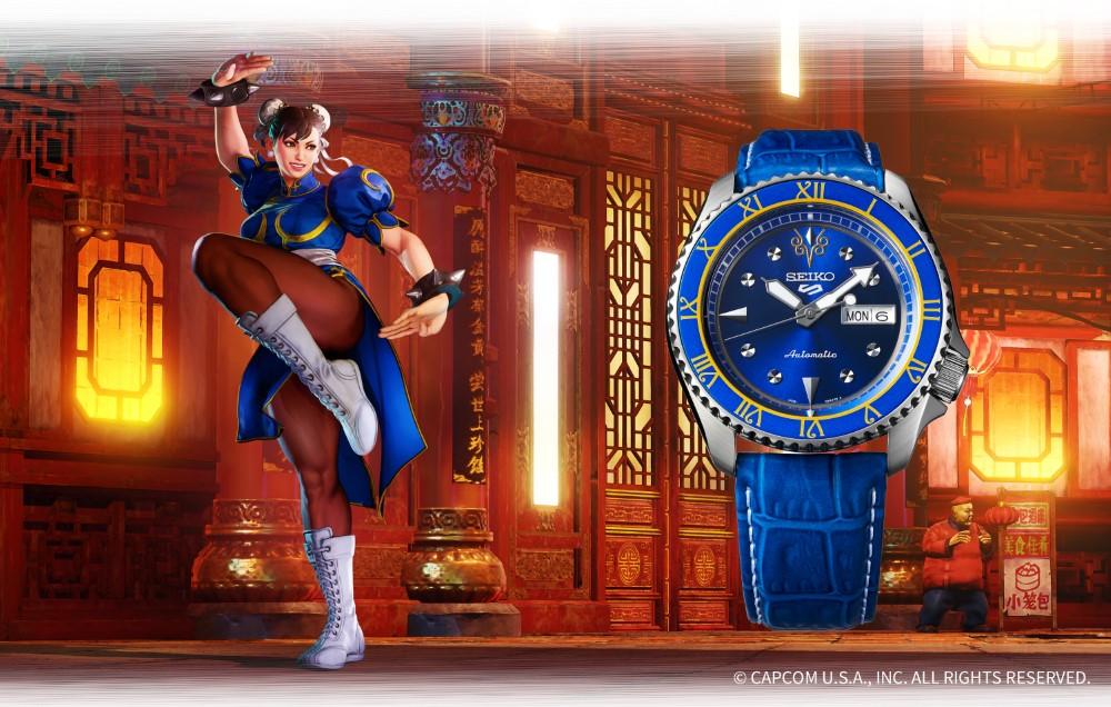 Seiko 5 Sports x Street Fighter V - CHUN-LI