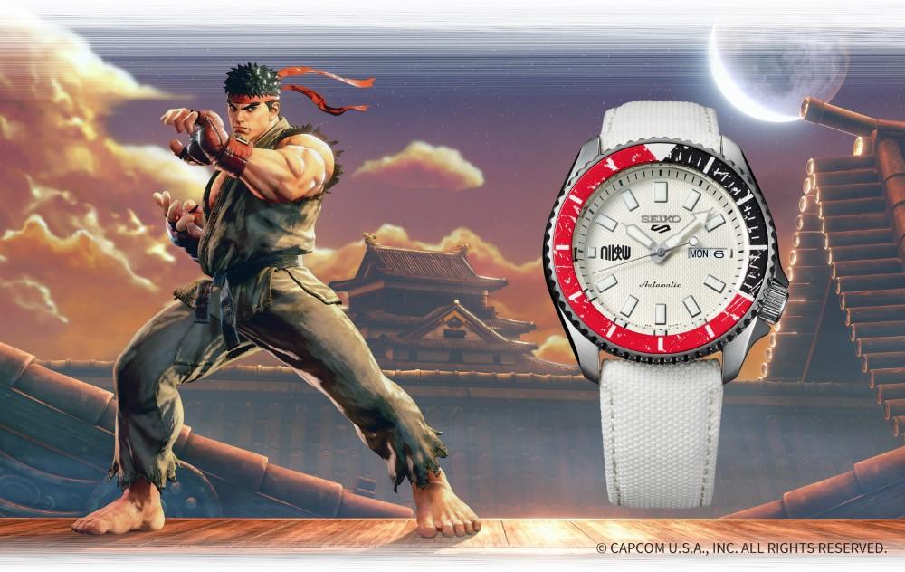 Seiko 5 Sports x Street Fighter V - RYU