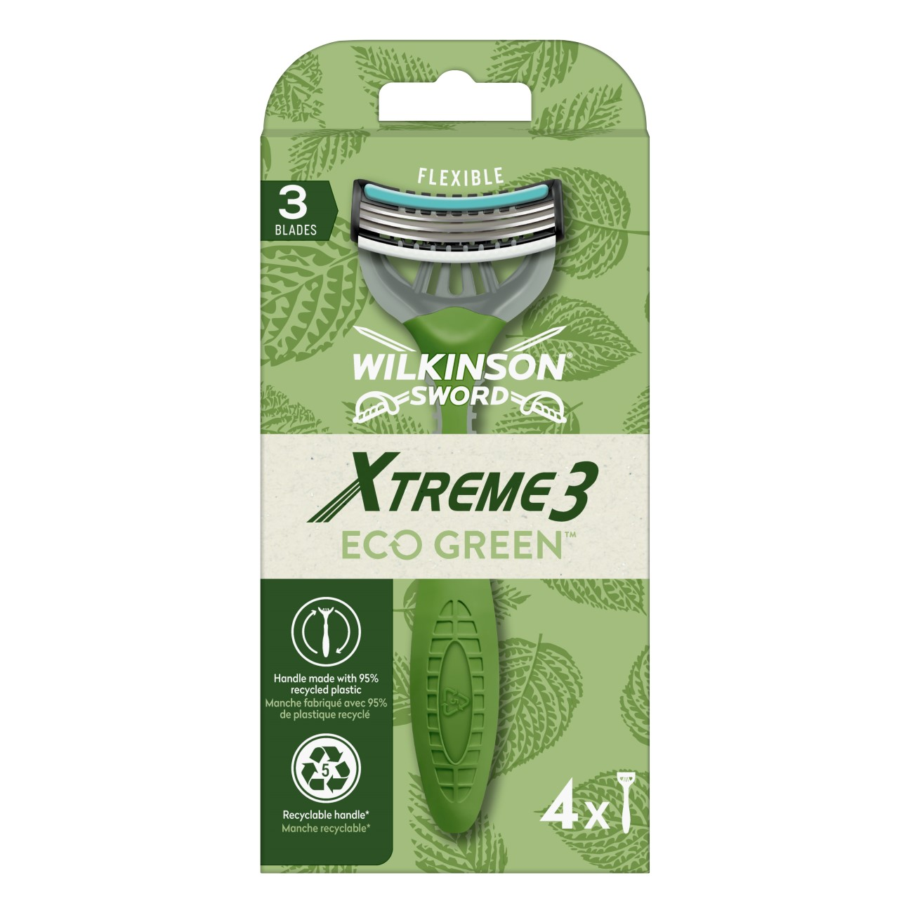 Wilkinson Sword Xtreme 3 Eco Green