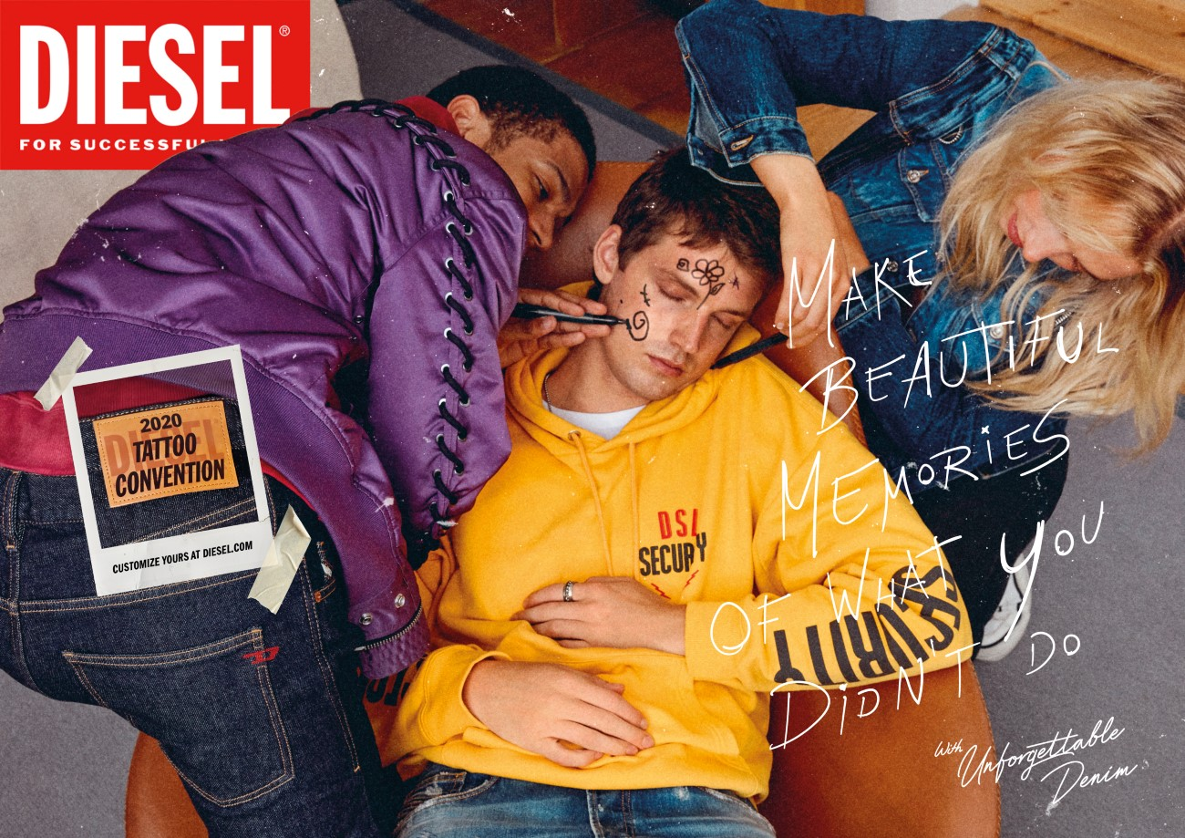 Diesel - Campagne Unforgettable Denim