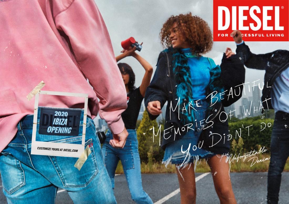 Diesel - Campagne Unforgettable Denim