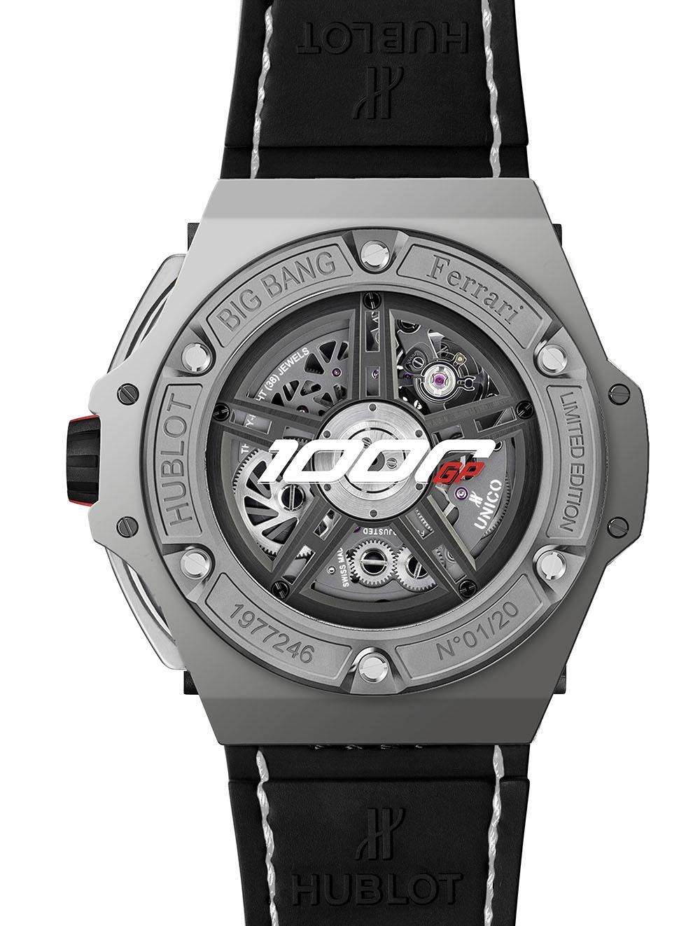 Hublot Big Bang Ferrari 1000 GP - 402.WX.0112.VR