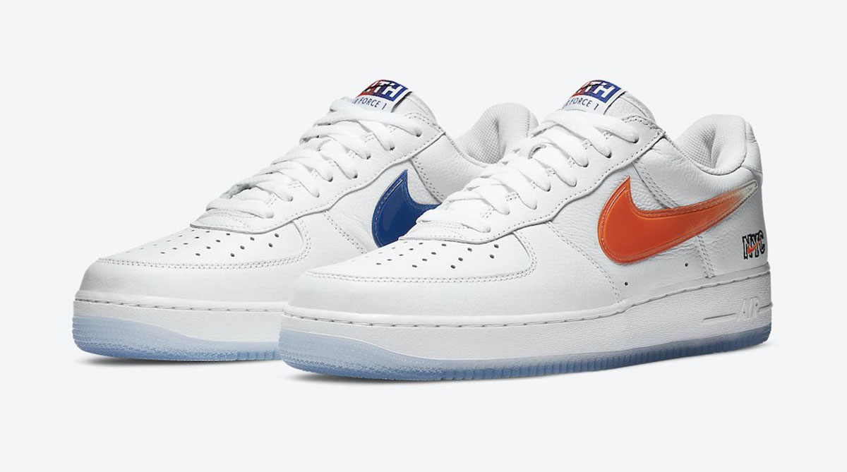 KITH x Nike Air Force 1 NYC White