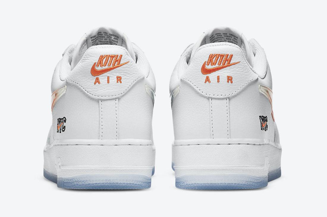 KITH x Nike Air Force 1 NYC White
