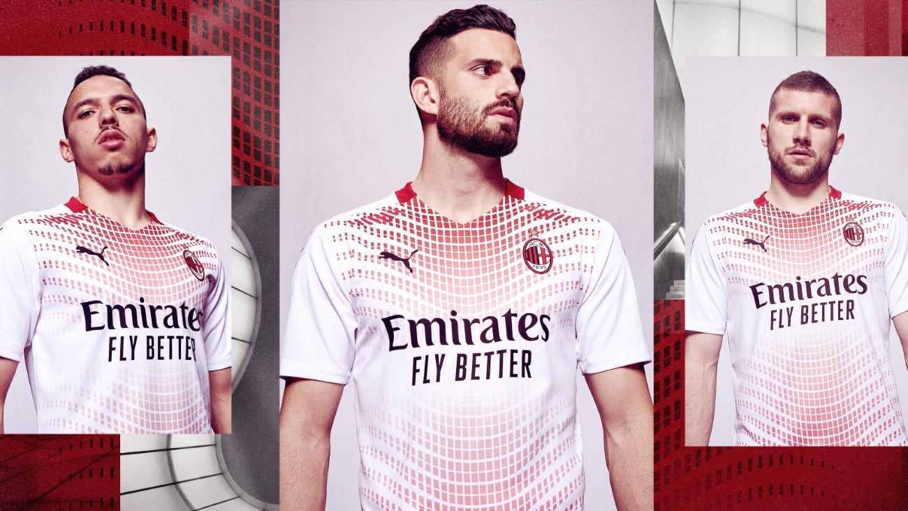 PUMA Football x AC Milan - Kit Extérieur 2020-2021