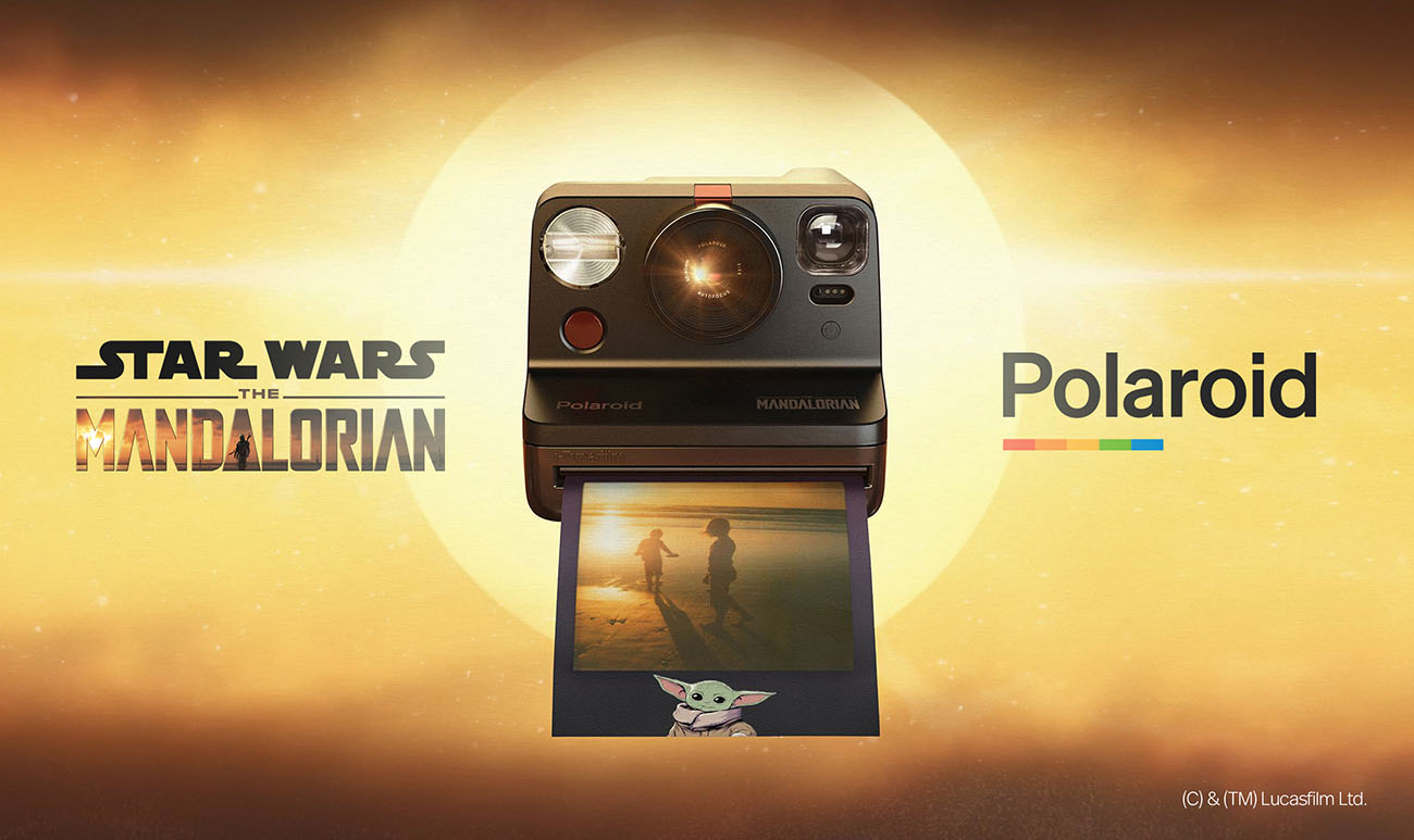 Polaroid Now x The Mandalorian