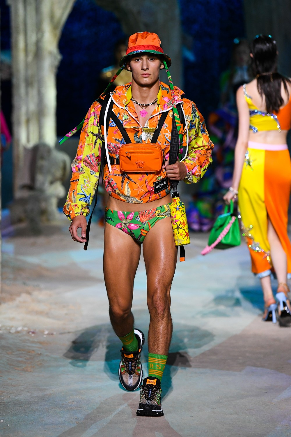 Versace - Printemps-Été 2021 - Milan Fashion Week