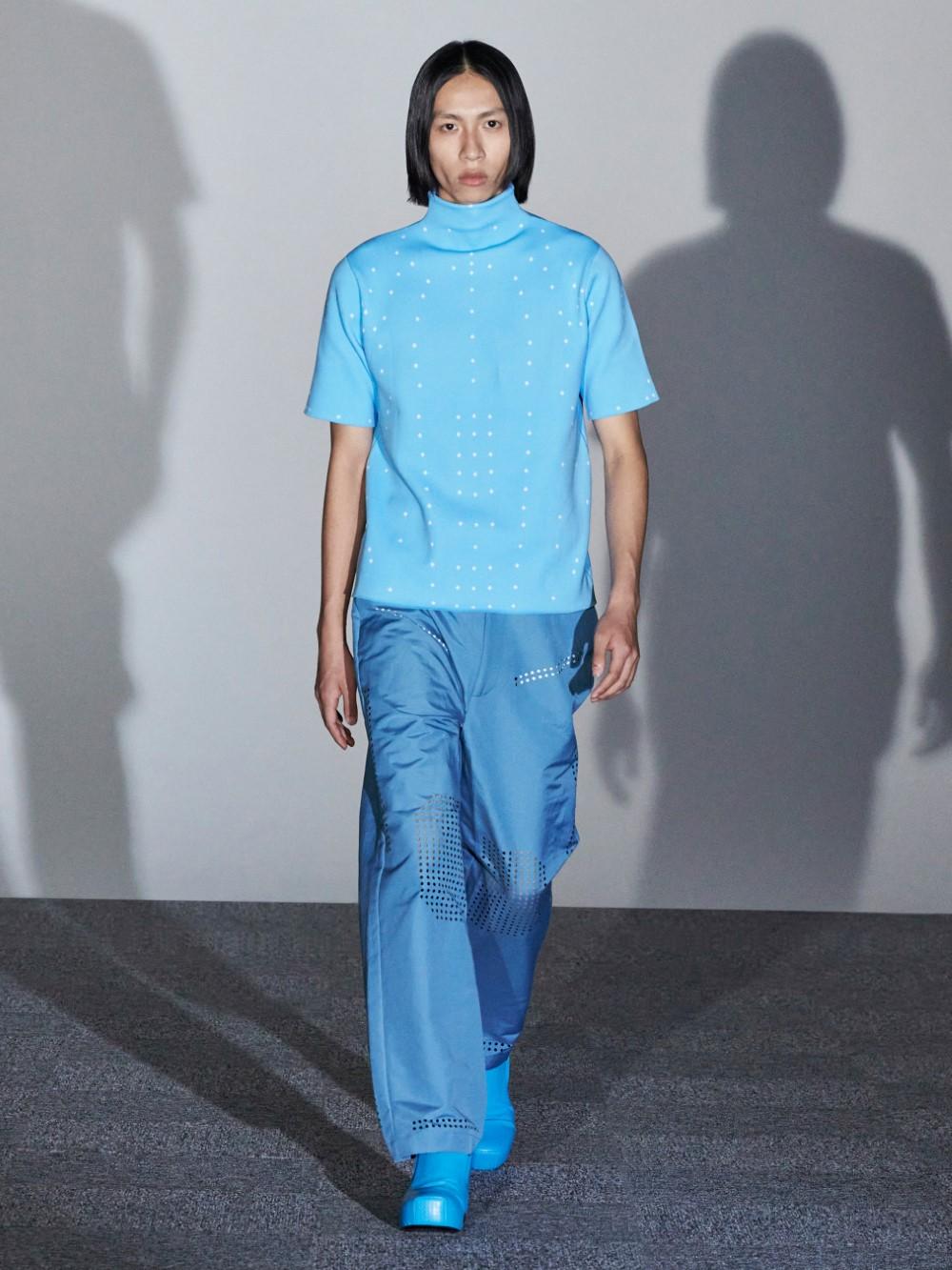 Xander Zhou Printemps Ete 2021 – London Fashion Week 46