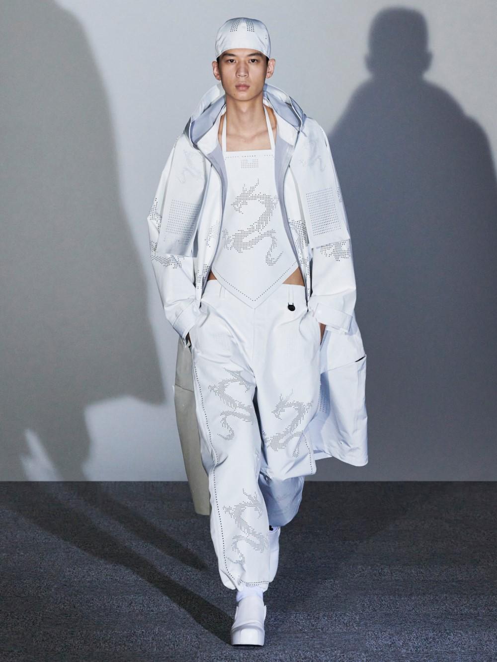 Xander Zhou Printemps Ete 2021 – London Fashion Week 58