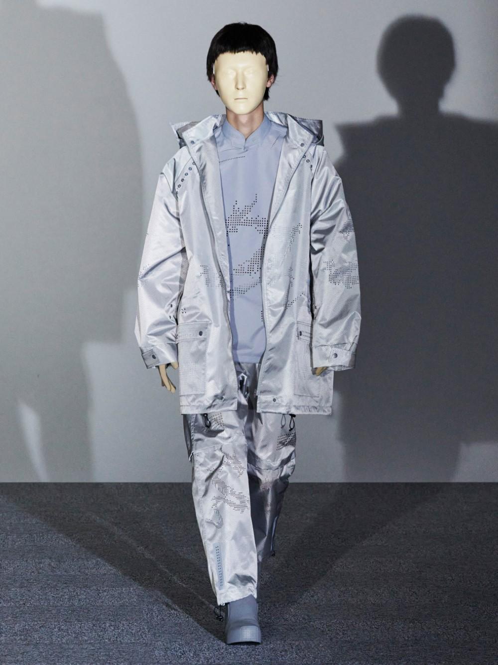 Xander Zhou Printemps Ete 2021 – London Fashion Week 59