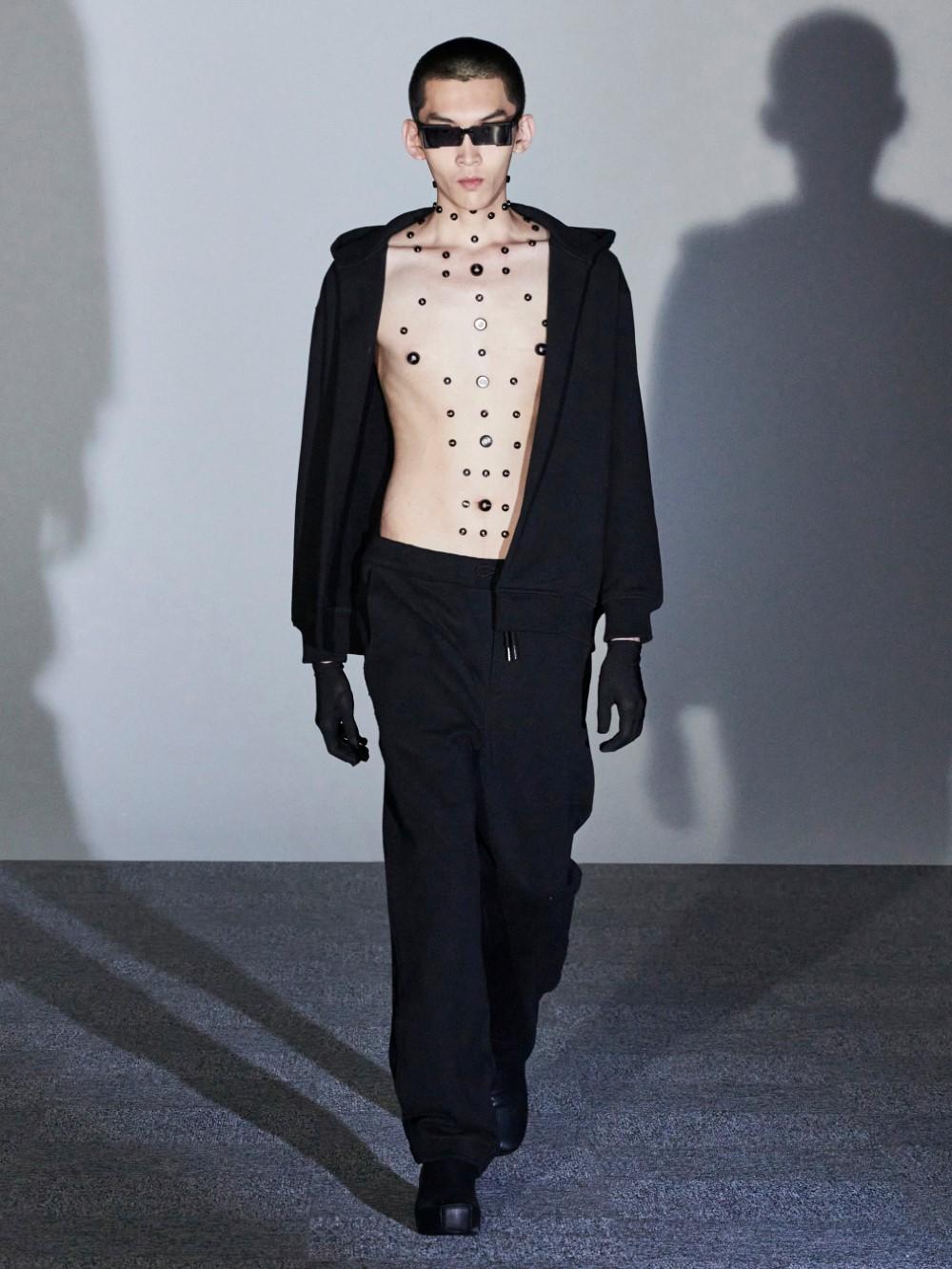 Xander Zhou Printemps Ete 2021 – London Fashion Week 6