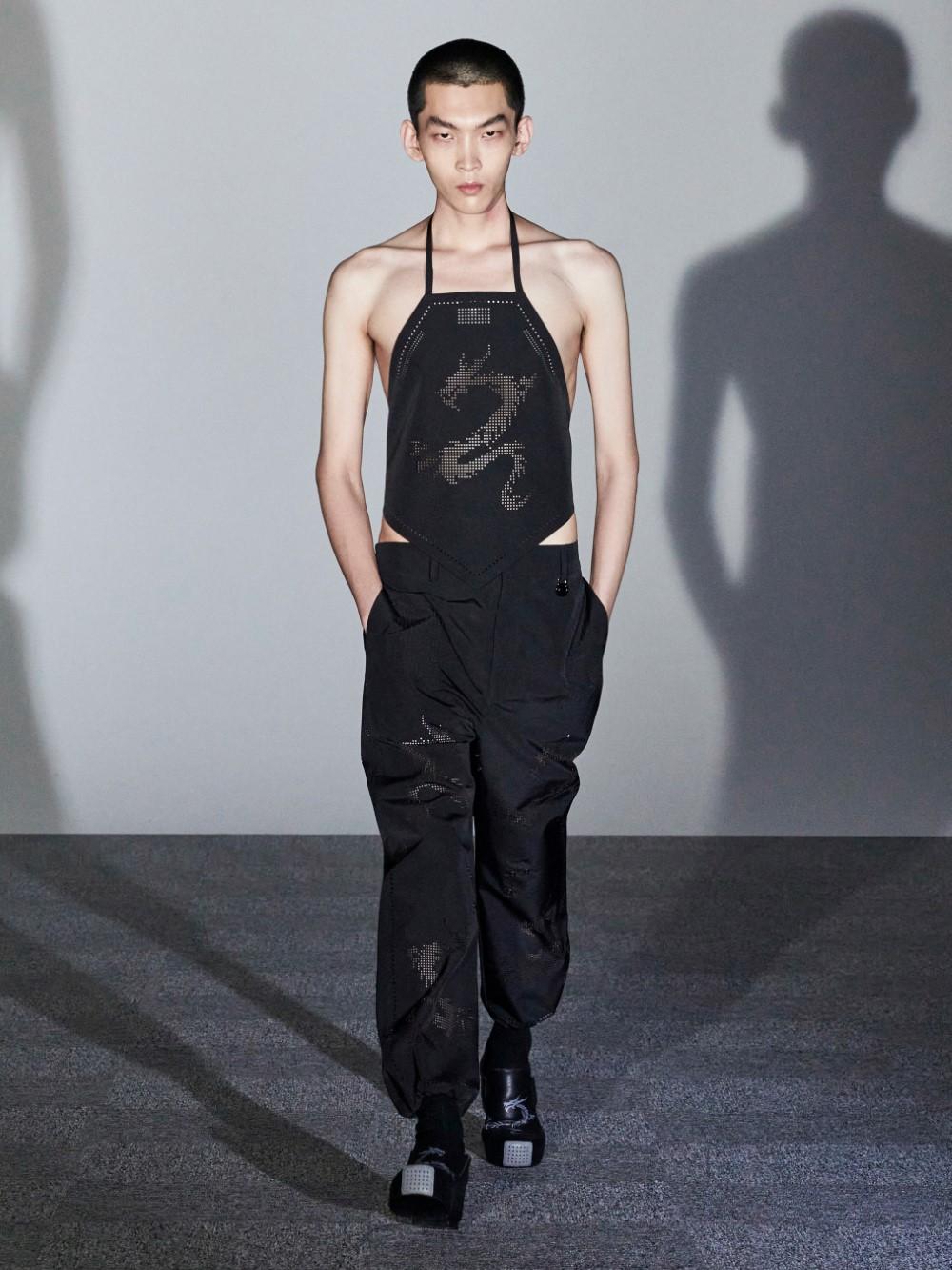 Xander Zhou Printemps Ete 2021 – London Fashion Week 60