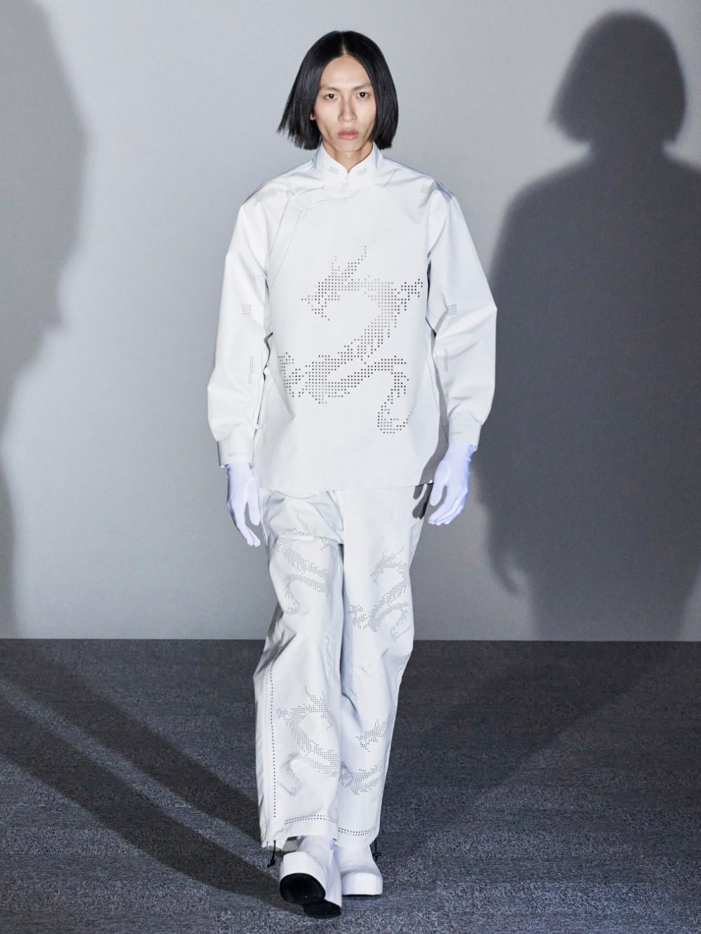 Xander Zhou Printemps Ete 2021 – London Fashion Week 61