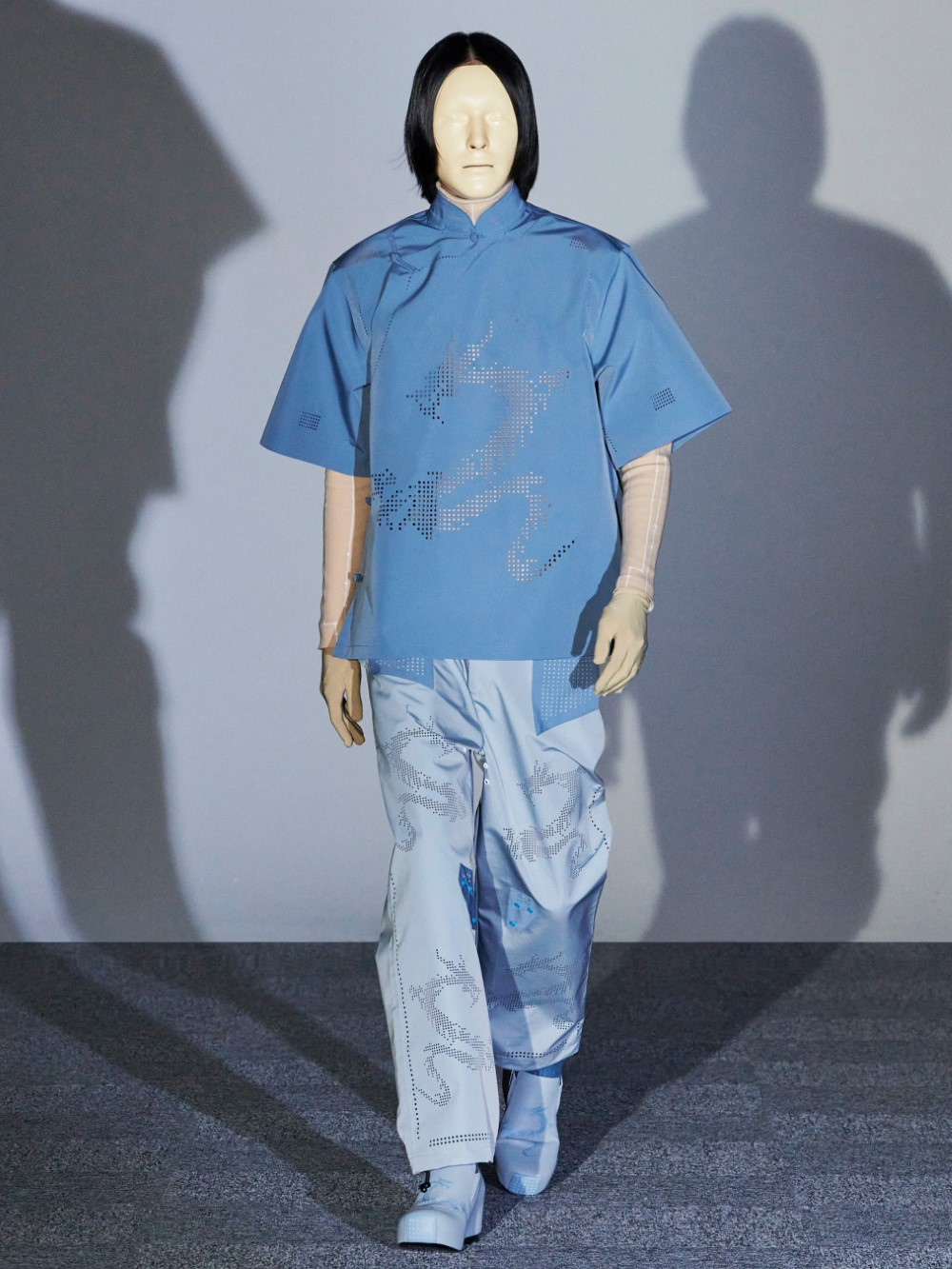 Xander Zhou - Printemps-Été 2021 – London Fashion Week