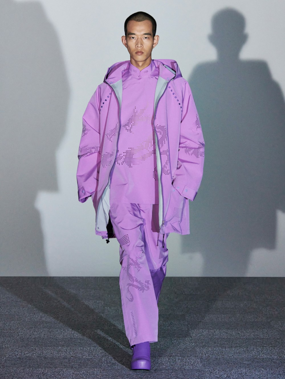 Xander Zhou - Printemps-Été 2021 – London Fashion Week