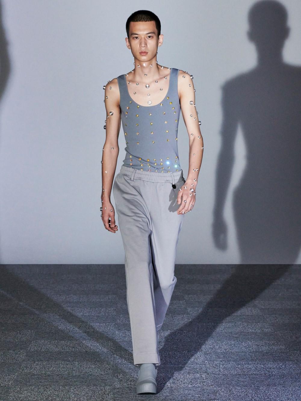 Xander Zhou Printemps Ete 2021 – London Fashion Week 7