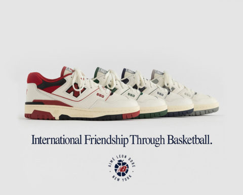 Aimé Leon Dore x New Balance P550 Basketball Oxford