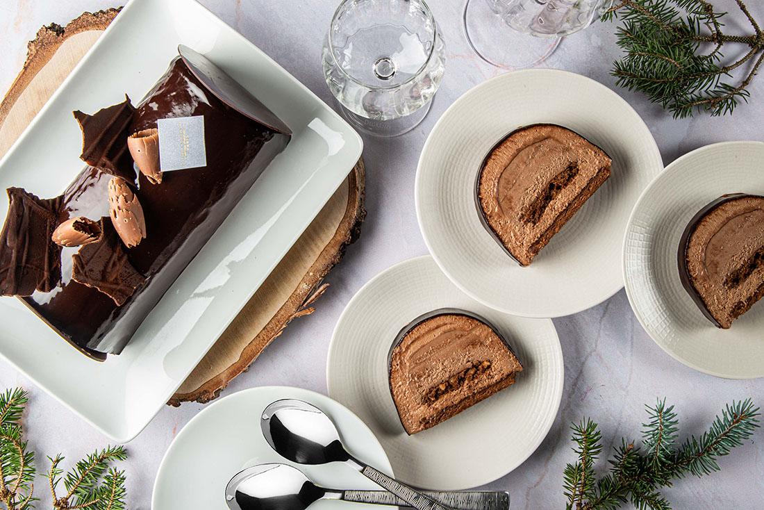 Bûches de Noël 2020 - Philippe Conticini Chocolat San Martin