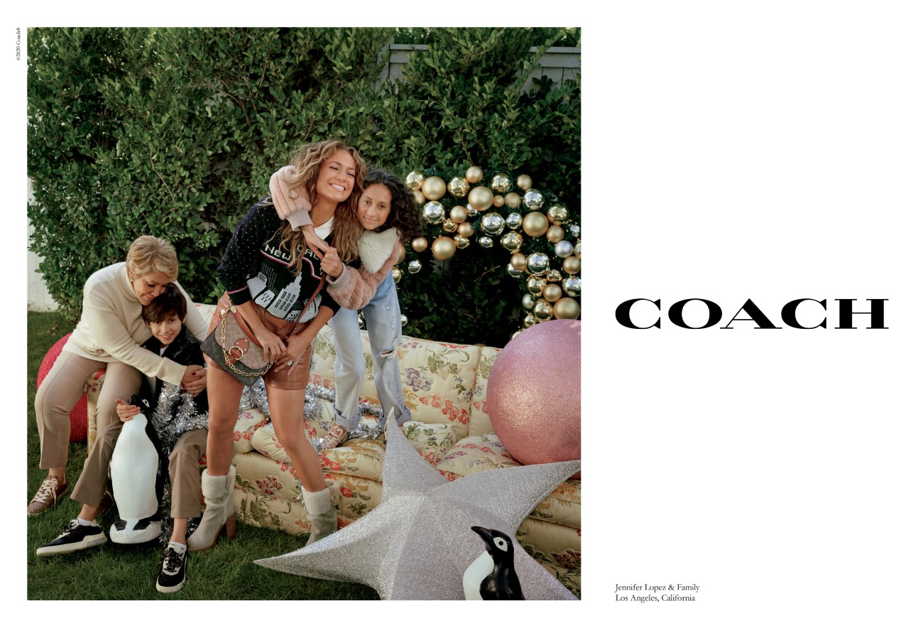 Coach - Campagne Holiday 2020 - Jennifer Lopez