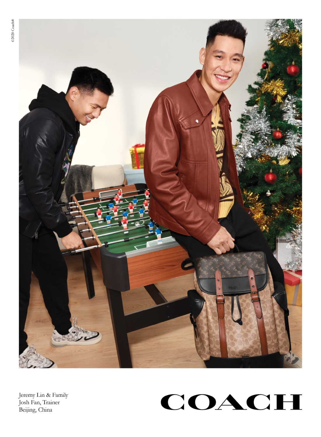 Coach - Campagne Holiday 2020 - Jeremy Lin
