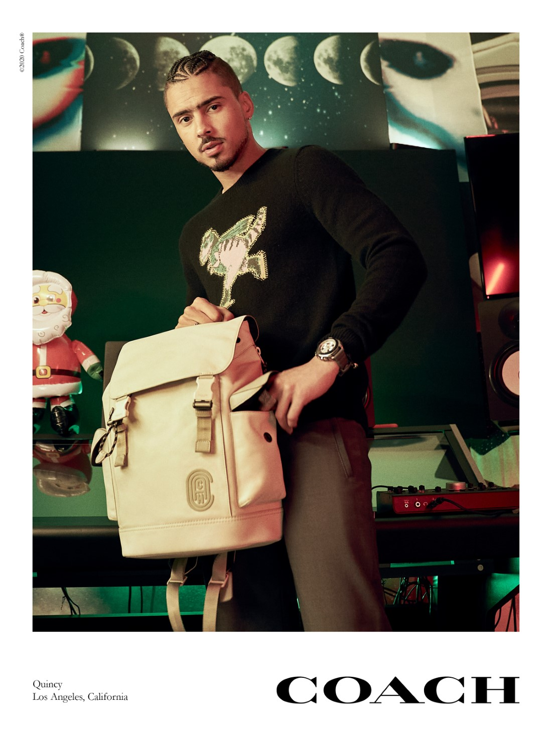 Coach - Campagne Holiday 2020 - Quincy
