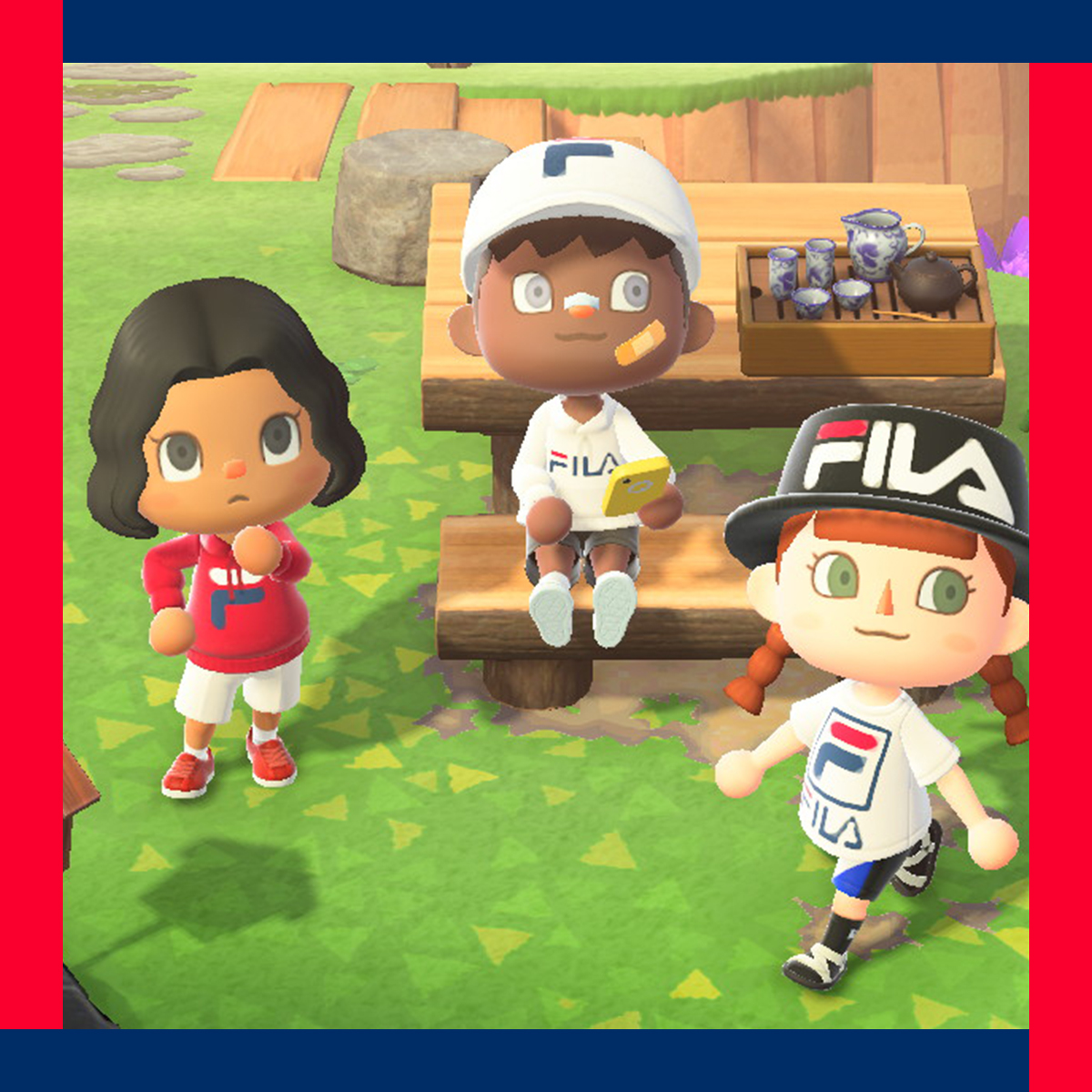 FILA x Animal Crossing New Horizons